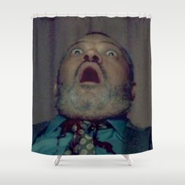 Scared Face Laurence Fishburn Shower Curtain