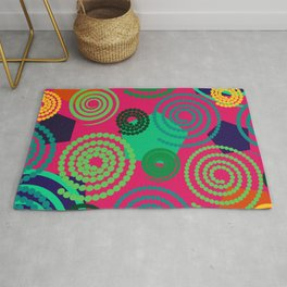 Back to school: funny shapes Rug