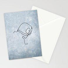 One line Dredd Stationery Cards