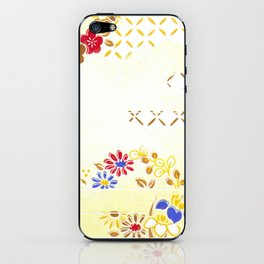 Vintage Japanese Pattern iPhone Skin