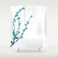 pastel Shower Curtains featuring Pastel  by Rceeh