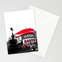 Picadilly Circus - by Cheryl Gerhard Stationery Cards