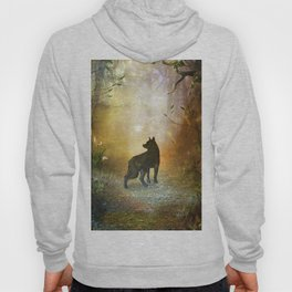 The lonely wolf Hoody