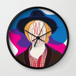 Qué Onda Beck Wall Clock