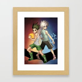 Hunter x Hunter Framed Art Print