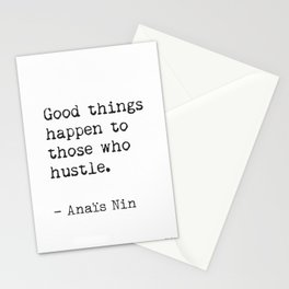 Anaïs Nin quote Stationery Cards