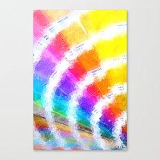 Pantone Color Book Canvas Print