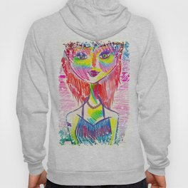 A Girl Should Be Like A Butterfly, Pretty to See, Hard to Catch Hoody