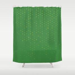 scorpio zodiac sign pattern gr Shower Curtain