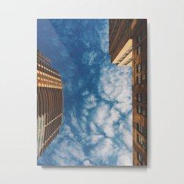 Wild Blue Yonder: No Ceilings Metal Print