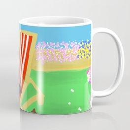 Peace in the garden Coffee Mug