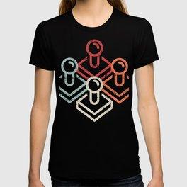 Retro Gamer Arcade Joysticks T-shirt