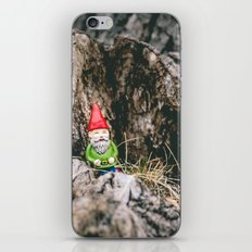 Oli the Gnome in His Summer House iPhone & iPod Skin
