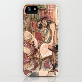 Le Salon Rouge iPhone Case