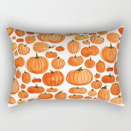Pumpkins Rectangular Pillow