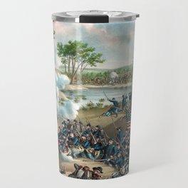 Battle of Cold Harbor -- Civil War Travel Mug