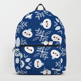 Baby garlic royal blue Backpack