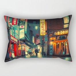 Human After All/ Japan Photo Print Rectangular Pillow