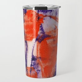 Abstract Expression #12 by Michael Moffa Travel Mug