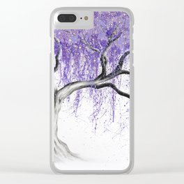Sumptuous Shade Tree Clear iPhone Case
