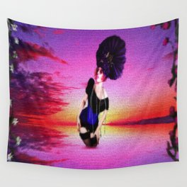 """""""Is Lady of the Lake Just One More Girl?"""" Wall Tapestry"""