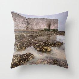 Whiteness Arch Throw Pillow