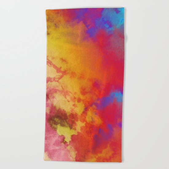 Dye to Live #society6 #decor #buyart Beach Towel