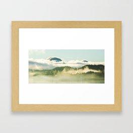 November Morning in Ketchikan Framed Art Print