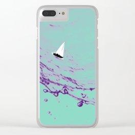 Ocean Wonderland VII Clear iPhone Case