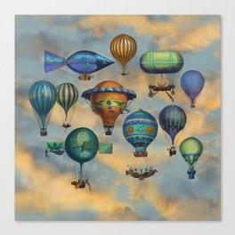 Aviation Flotation Canvas Print