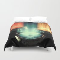 fairy tale Duvet Covers featuring fairy tale by Patrick R. Gschwind