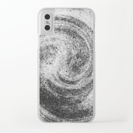 The Universe as Chocolate Clear iPhone Case