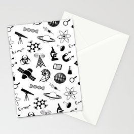 Symbols of Science Stationery Cards