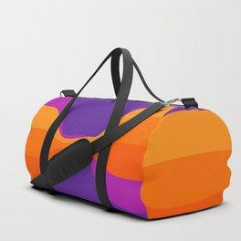 Purple Twist Duffle Bag