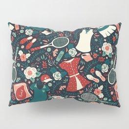 Tennis Style Pillow Sham