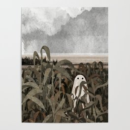There's A Ghost in the Cornfield Again Poster