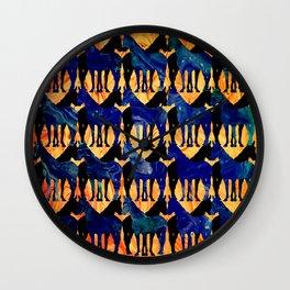 Dancing Horses Wall Clock