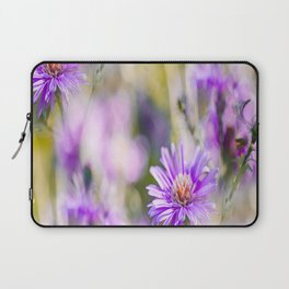 Summer dream - purple flowers - happy and colorful mood Laptop Sleeve