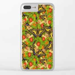 Old World Swallowtail Cacophony Clear iPhone Case