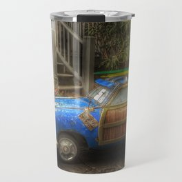 Off to Fulfill a Surfing Dream Travel Mug