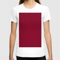 burgundy T-shirts featuring Burgundy by List of colors