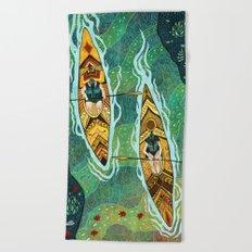 Kayaking Beach Towel