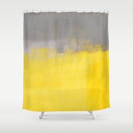 A Simple Abstract Shower Curtain