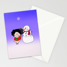 Snowman Stationery Cards