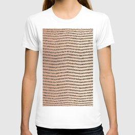 Zigzag Tan Gradient T-shirt