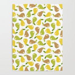Bitten pears Poster