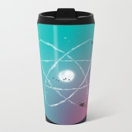 Atomic Formation Metal Travel Mug
