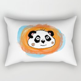 Leo_Panda Rectangular Pillow