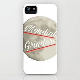 Mondial Grinders iPhone Case