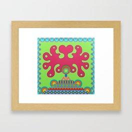 The Pyramid of Love Framed Art Print